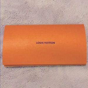 Authentic Louis Vuitton Invoice Envelope